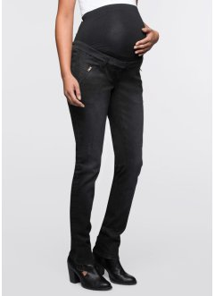 Umstandsmoden-Skinny-Jeans, bpc bonprix collection, black stone