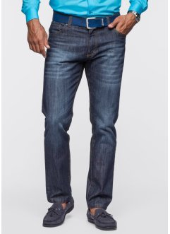 Jeans Slim Fit Straight, bpc selection, weiß