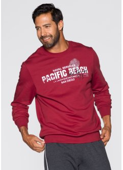 Sweatshirt Regular Fit, bpc bonprix collection, schwarz