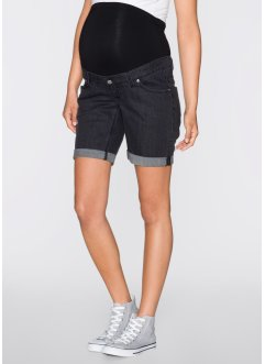Umstands- Jeansshorts, bpc bonprix collection, black stone