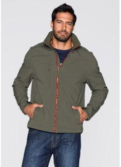 Softshell-Jacke Regular Fit, bpc bonprix collection, blaugrau