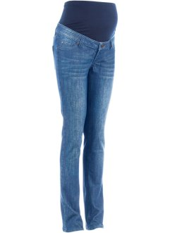 Umstandsjeans, schmales Bein, bpc bonprix collection, blue stone