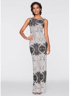 Abendkleid, BODYFLIRT boutique, grau