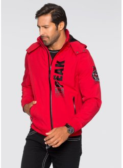 Softshell-Jacke im Regular Fit, bpc selection, rot