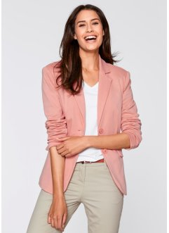 Blazer, bpc bonprix collection, hellkoralle