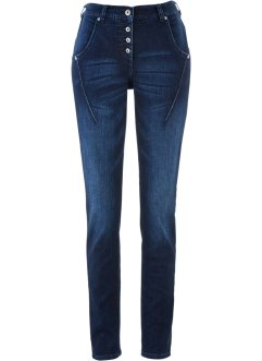 Stretch-Jeans, bpc bonprix collection, dark denim