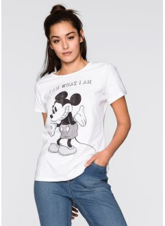 T-Shirt, Disney, weiß