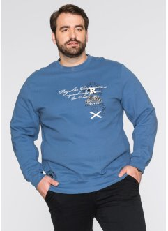 Sweatshirt Regular Fit, bpc bonprix collection, jeansblau
