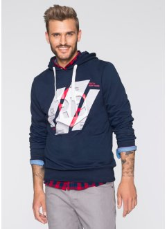 Sweatshirt Slim Fit, RAINBOW, dunkelblau