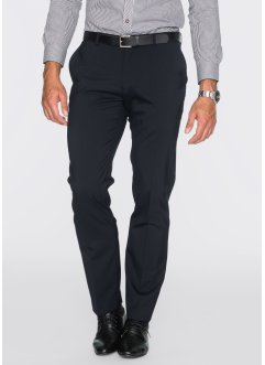 Hose m. Schurwolle Slim Fit, bpc selection, schwarz