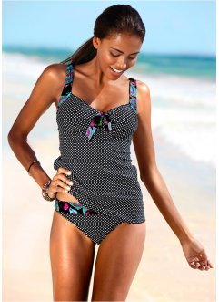 Tankini, bpc bonprix collection, schwarz/weiß