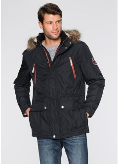 Parka, wattiert Regular Fit, bpc bonprix collection, schwarz