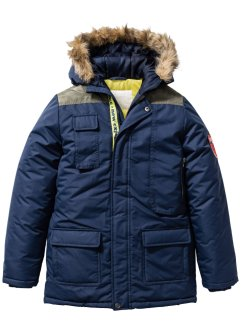 Parka mit Kapuze, bpc bonprix collection, dunkelblau