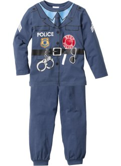 Pyjama (2-tlg. Set), bpc bonprix collection, Pyjama Polizist