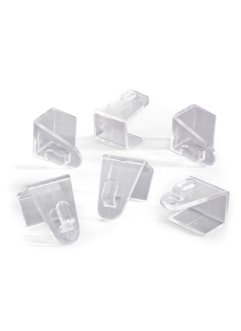 Fensterklipp (6er-Pack), bpc living, transparent