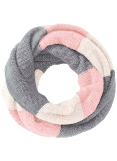 Loop-Schal, bpc bonprix collection, hellrosa/multi