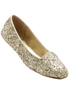 Ballerina, bpc bonprix collection, gold glitter