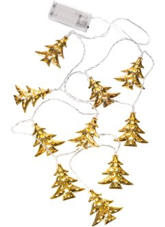 "LED-Lichterkette ""Tannenbaum"", bpc living, gold"