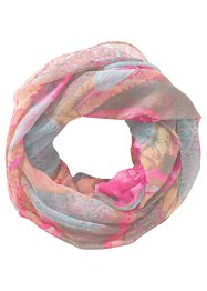 "Loop ""Rosen"", bpc bonprix collection, pink/grau"