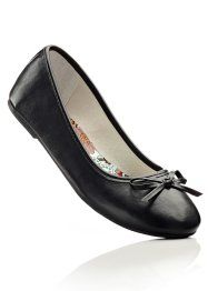 Komfortable Ballerinas, bpc selection, schwarz