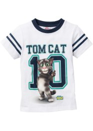 """TALKING TOM"" T-Shirt, Talking Tom and Friends, weiss bedruckt ""TALKING TOM"""