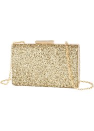 Boxbag Glitzer, bpc bonprix collection, gold