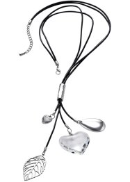 "Kette ""Zoe"", bpc bonprix collection, silber/transparent"