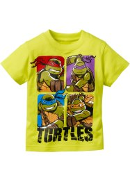 """TURTLES"" T-Shirt, Teenage Mutant Ninja Turtles, limettengrün Turtels"