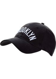 "Cap ""Brooklyn"", bpc bonprix collection, schwarz"