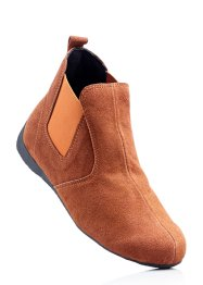 Lederstiefelette, bpc selection, terracotta