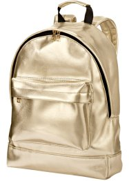 Rucksack Metallic, bpc bonprix collection, gold