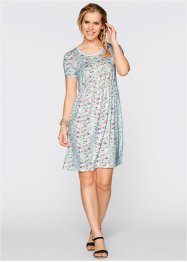 Jerseykleid mit Allover-Muster, bpc bonprix collection
