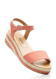 Sandalette, bpc bonprix collection, lachs