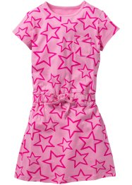 Shirtkleid, bedruckt, bpc bonprix collection, rosa