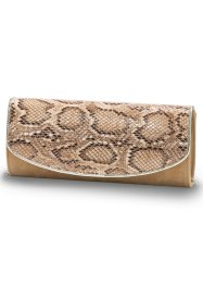 Clutch Animal, bpc bonprix collection, beige/braun