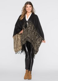Poncho mit Ornamenten, bpc bonprix collection