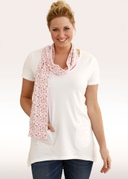 Shirt mit Schal 1/2-Arm (bpc bonprix collection)