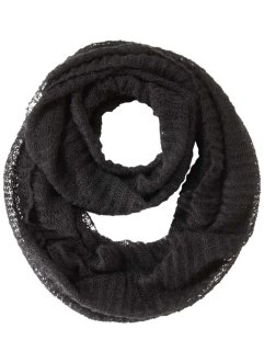 "Loop-Schal ""Delaja"", bpc bonprix collection, schwarz"