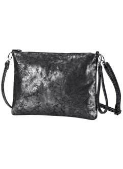 Clutch mit Sternen, bpc bonprix collection, silberfarben