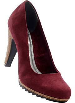 Pumps, John Baner JEANSWEAR, bordeaux