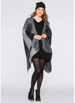 karierter Poncho, bpc bonprix collection