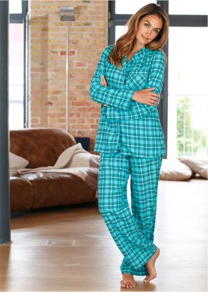 Flanell-Pyjama, bpc bonprix collection
