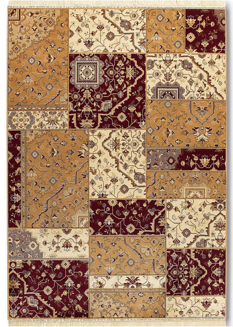 Teppich estelle rot bpc living online kaufen - Teppich bonprix ...