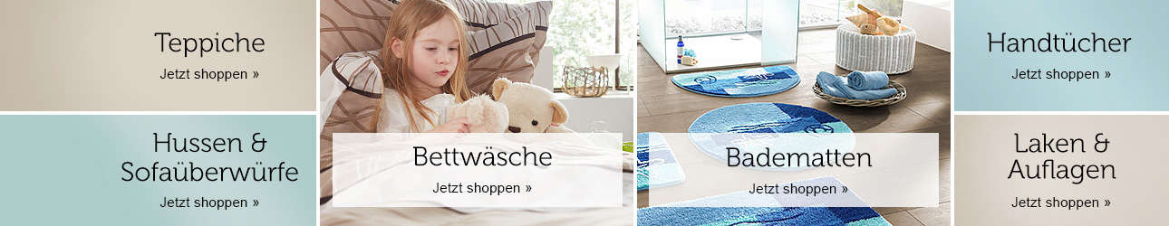 wohntextilien bequem online bei bonprix bestellen. Black Bedroom Furniture Sets. Home Design Ideas