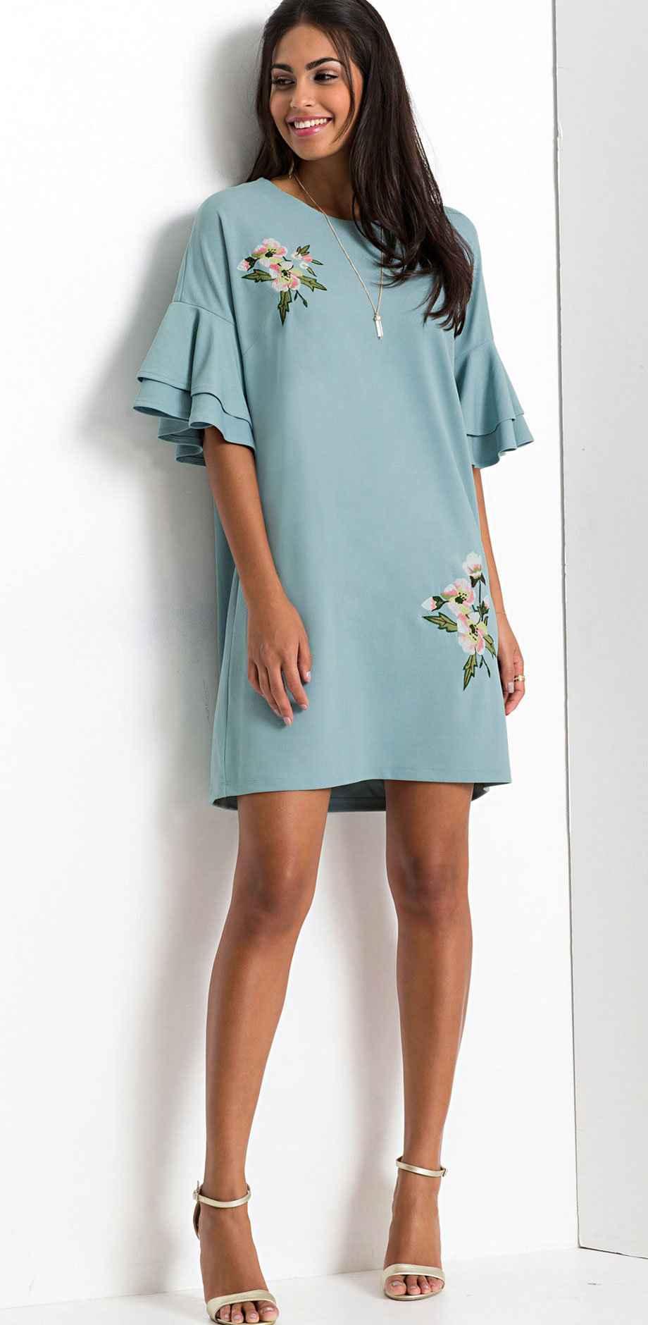 Kurze Kleider: Vielfalt für trendige Damen bei bonprix