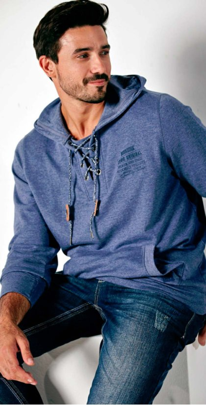 Herren - Sweatshirt Regular Fit - mitternachtsblau