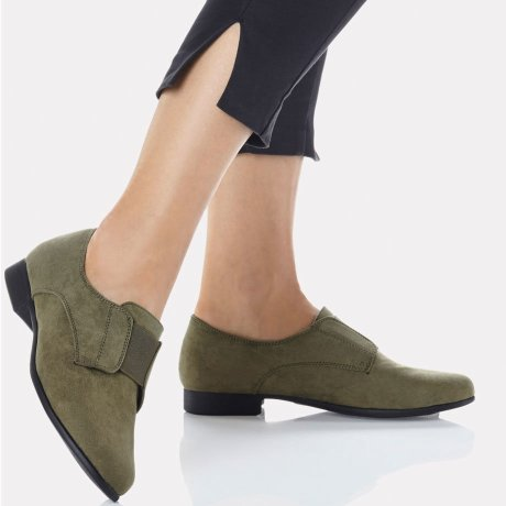 Damen - Slipper - khaki