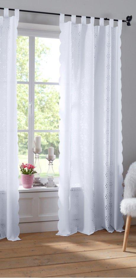 gardinen mit tunnelzug wohn design. Black Bedroom Furniture Sets. Home Design Ideas
