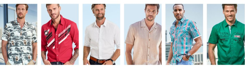 new product 4d6fe a8958 Herrenhemden in verschiedenen Modellen bei bonprix kaufen