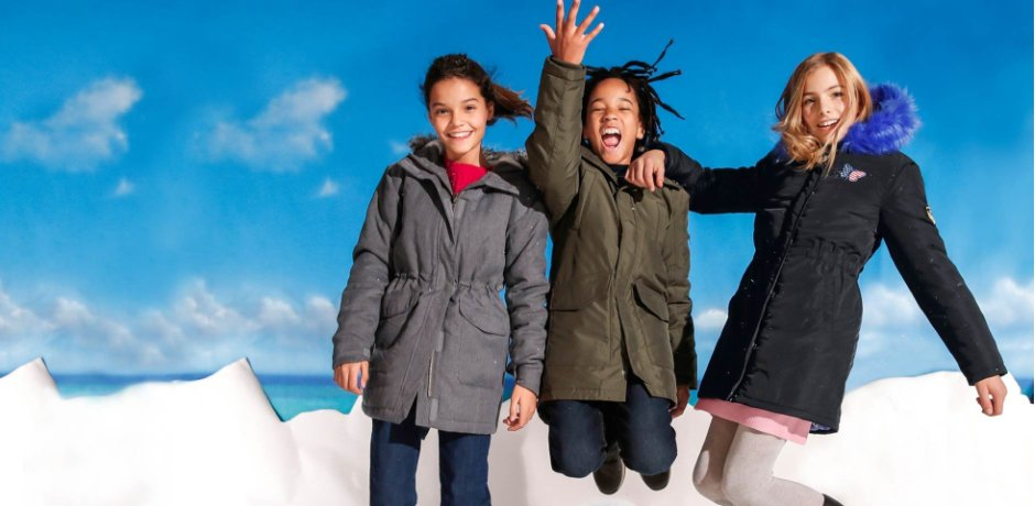 Kinder - Outdoorjacke - rauchgrau